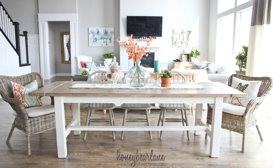 Make Your Own Farmhouse Dining Table