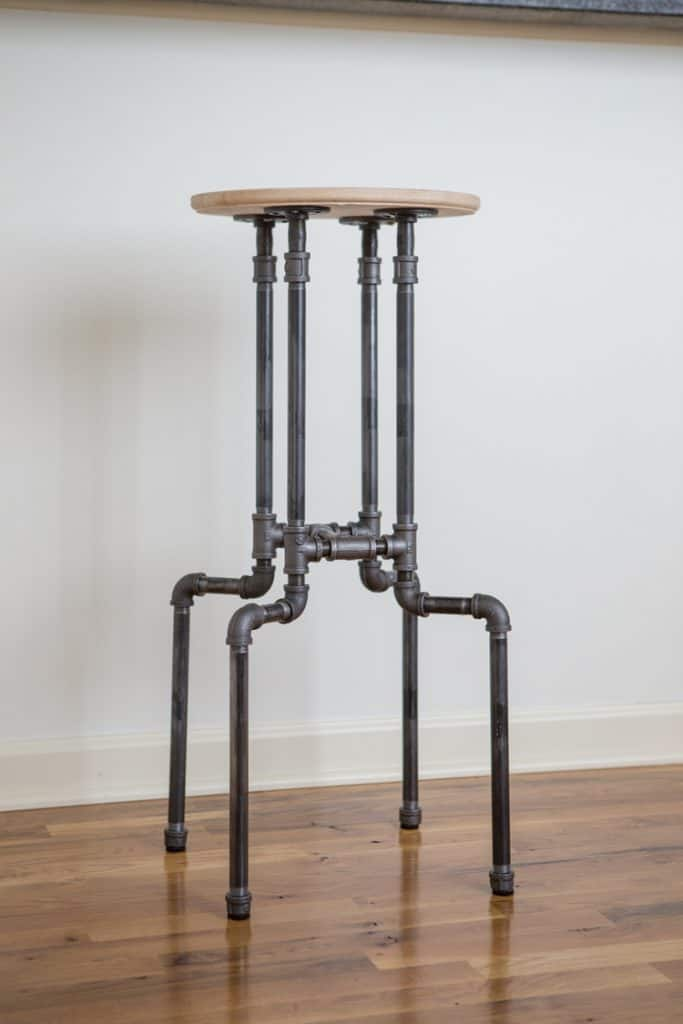 Pipped Leg Bar Stool