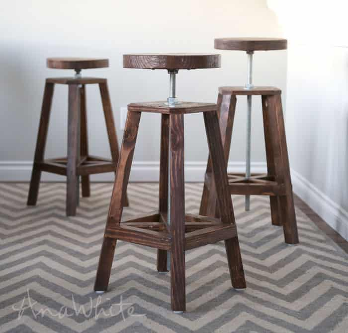 Modern Adjustable Stool