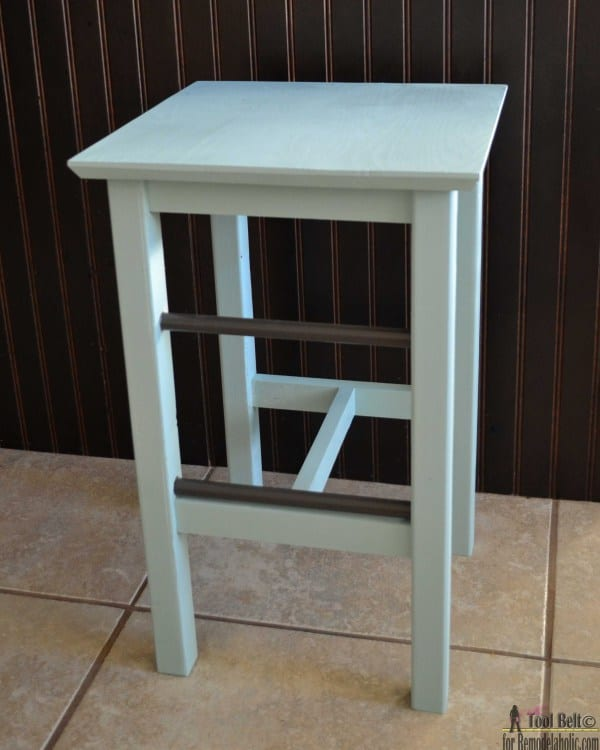 DIY Metal Accent Barstools