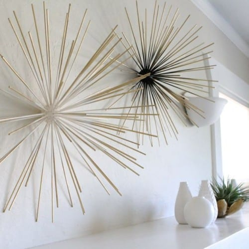 DIY Bamboo Wall Decor