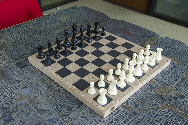 Concrete Chessboard DYI