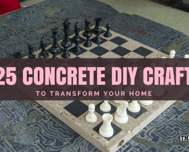 concrete craft diy