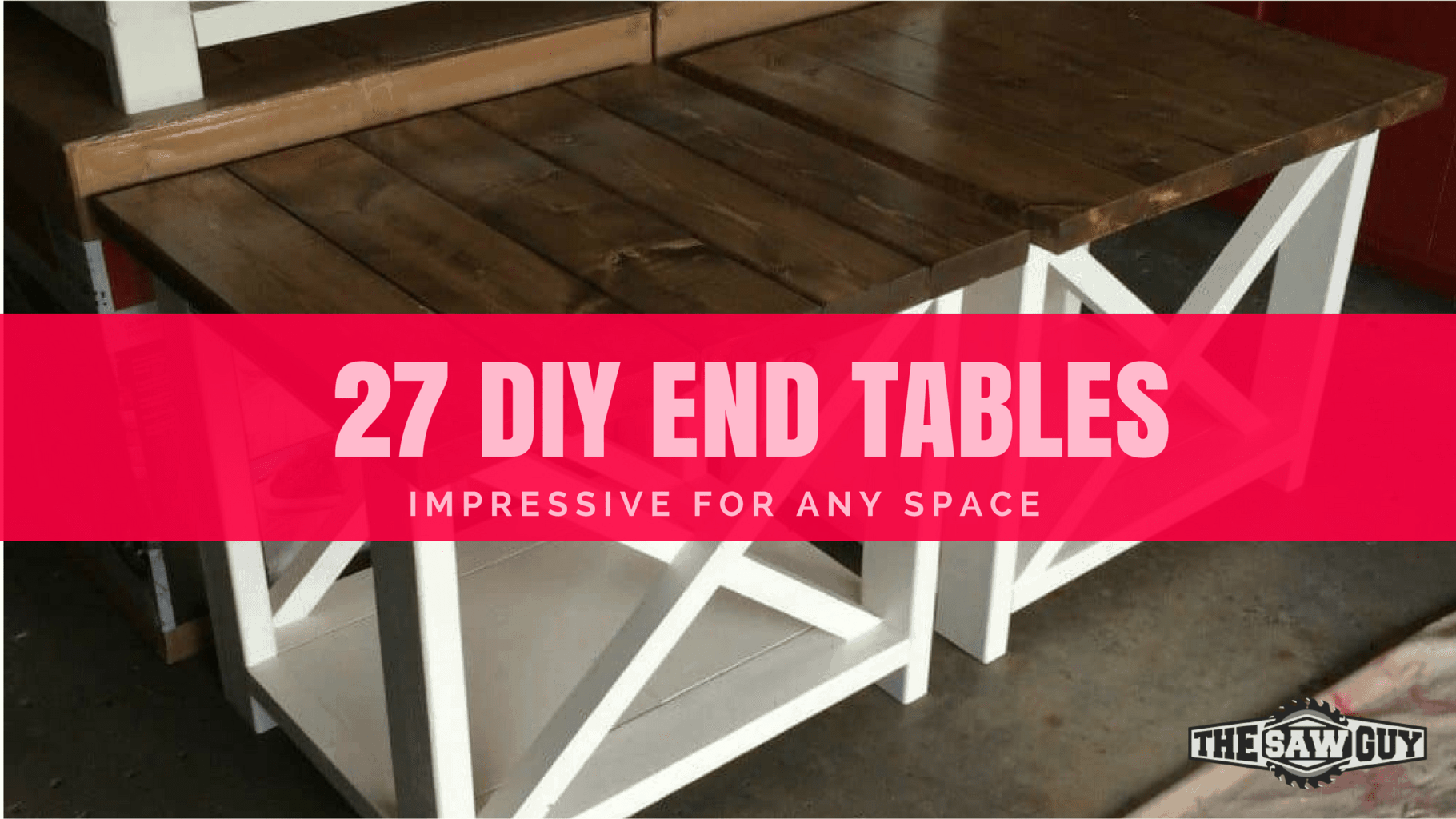 Incredible 27 Impressive Diy End Tables For Any Space The Saw Guy Inzonedesignstudio Interior Chair Design Inzonedesignstudiocom