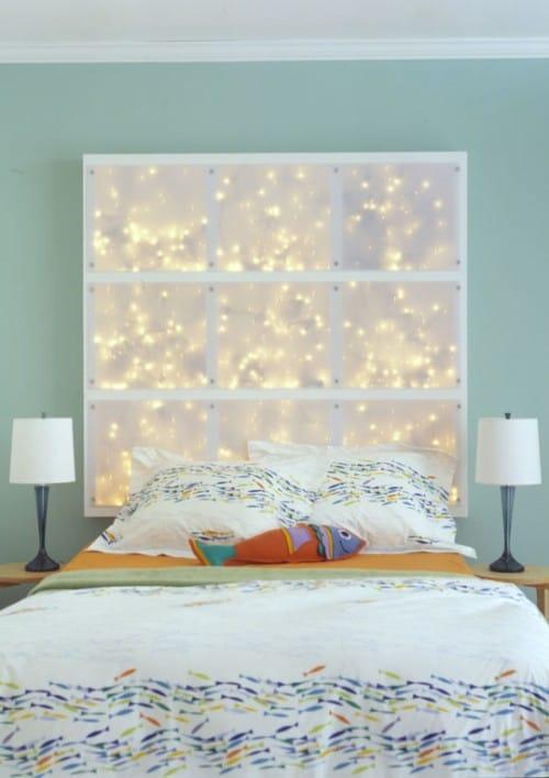 LED Light Headboard