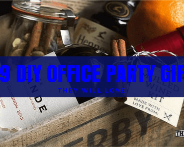 diy office party gifts