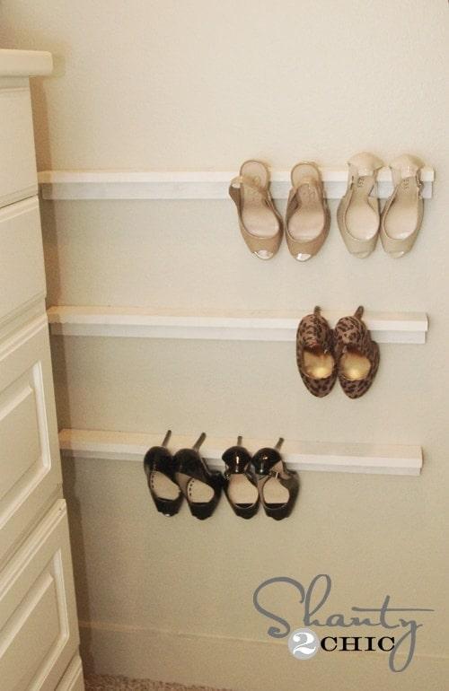 DIY High Heel Organizer