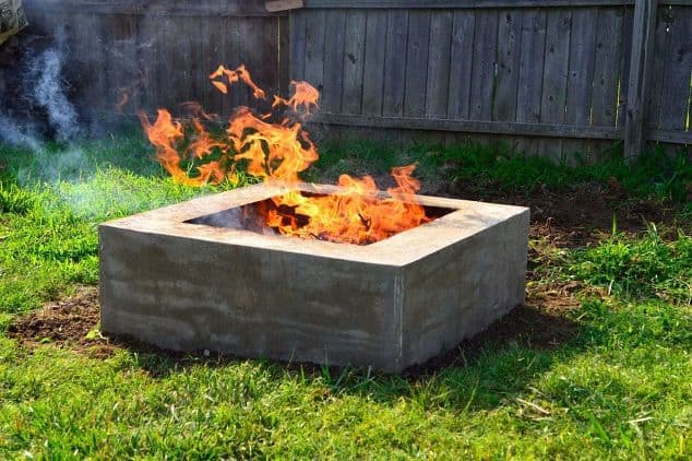 DIY Concrete Fire Pit for Less than $50