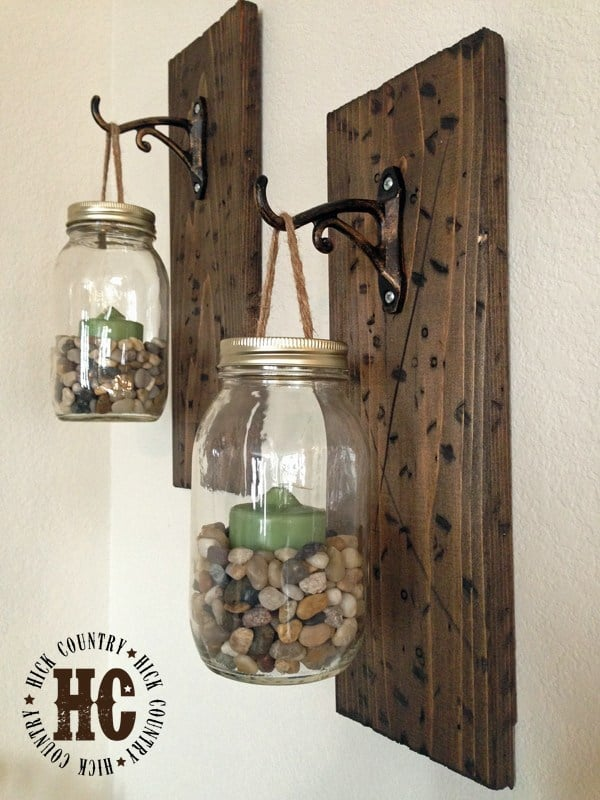 DIY Rustic Wall Art Gift