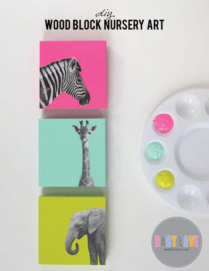 DIY Adorable Animal Wall Decor