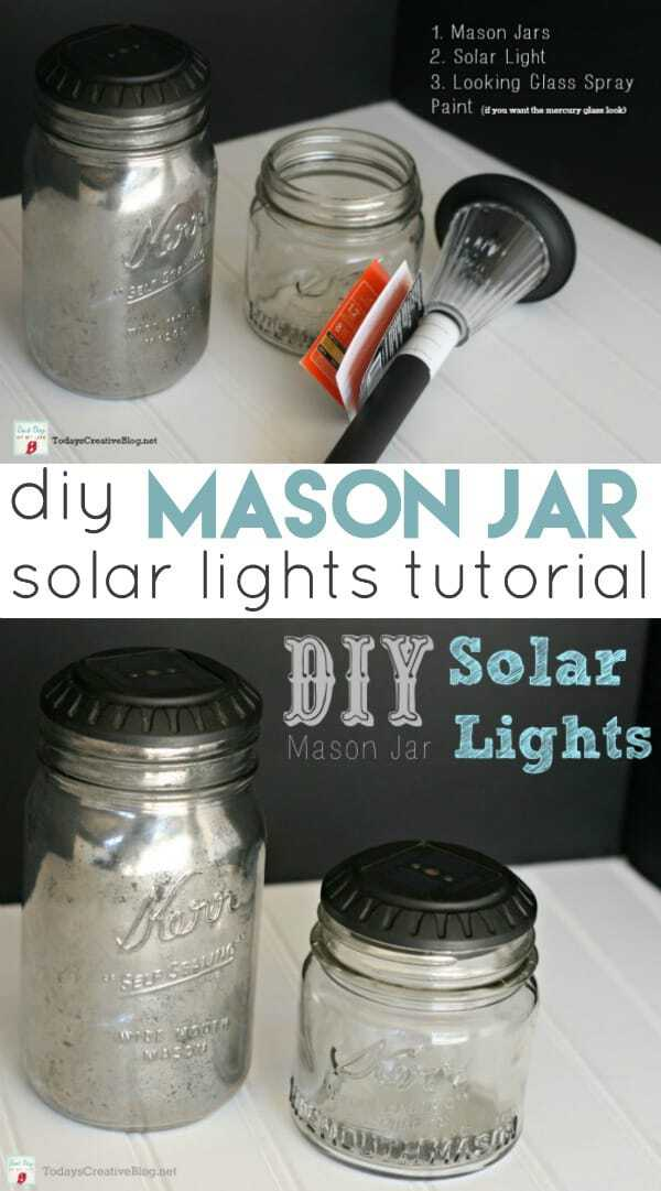 Mason Jar Lights Diy