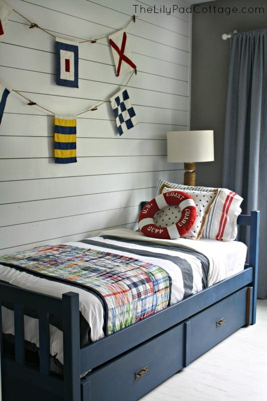 DIY Painted Bed