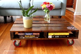 Recycled Wooden Pallet Coffee Table