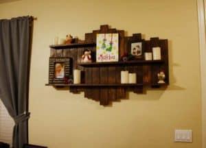 Tiered Shaped Shelf