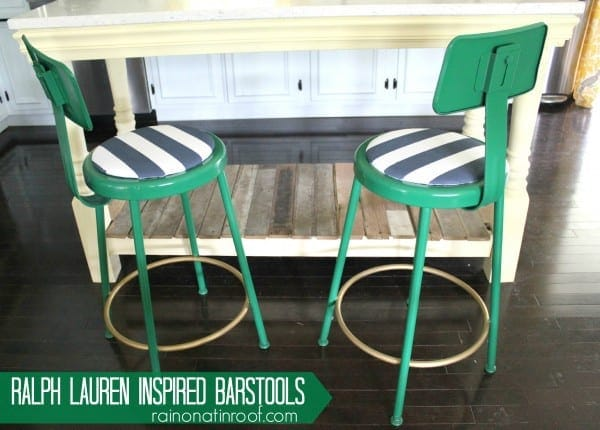 Stylish DIY Barstools