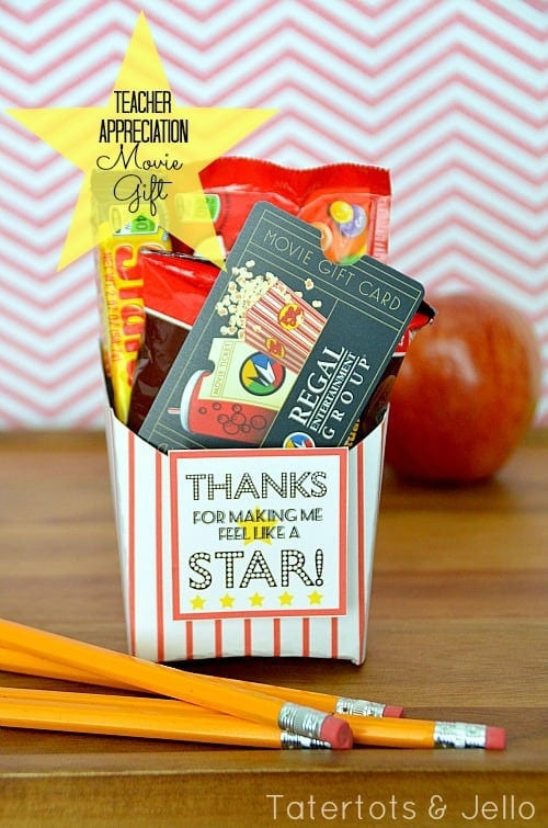 Popcorn Style Appreciation Gift