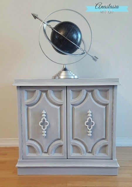 Beautiful Painted Cabinet Makeover
