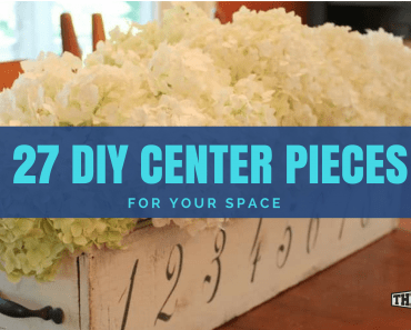 diy center pieces