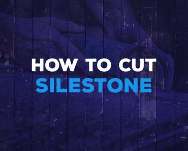 how to cut silestone