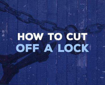 how to cut off a lock