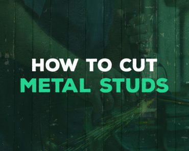 how to cut metal studs