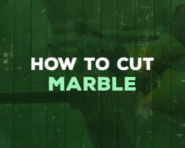 how to cut marble