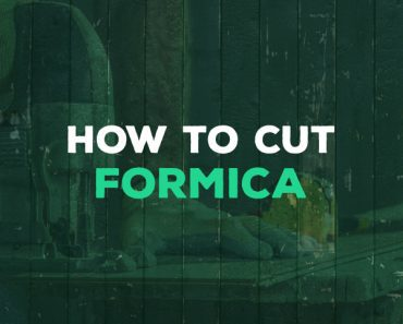 how to cut formica