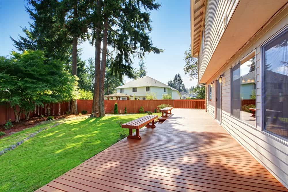 half deck half yard benches