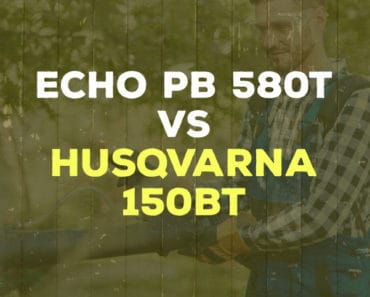 ECHO PB 580T vs Husqvarna 150BT