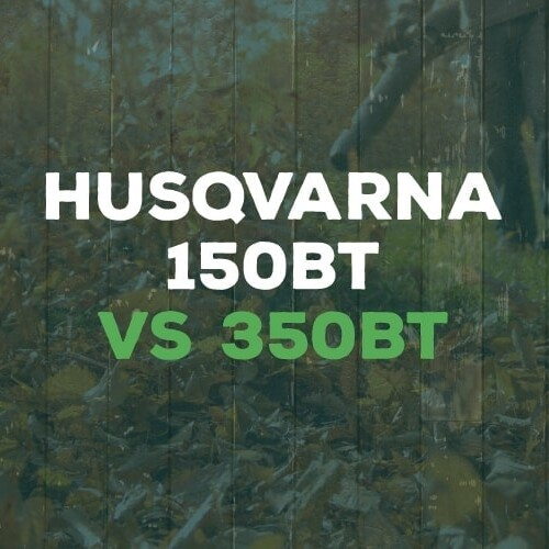 Husqvarna 150BT vs 350BT