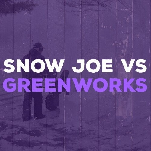 Snow Joe & Greenworks