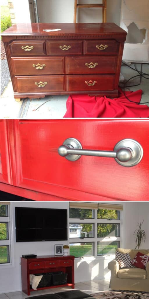 Update the old dresser - These furniture hacks will turn outdated and old furniture into treasured pieces. From little to no money you can have creative furniture statements throughout your home. thesawguy.com
