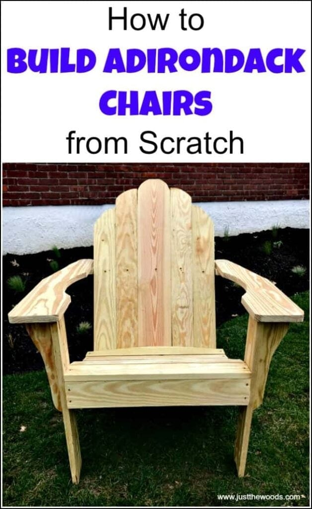 DIY Adirondack Chairs Now you can build your own Adirondack chairs in your shop. Imagine relaxing after a long day on chairs that you made yourself! Grab your materials, fix an iced tea and get to work making some of these gorgeous chairs! These would also be really nice gifts or crafts that you could sell.thesawguy.com