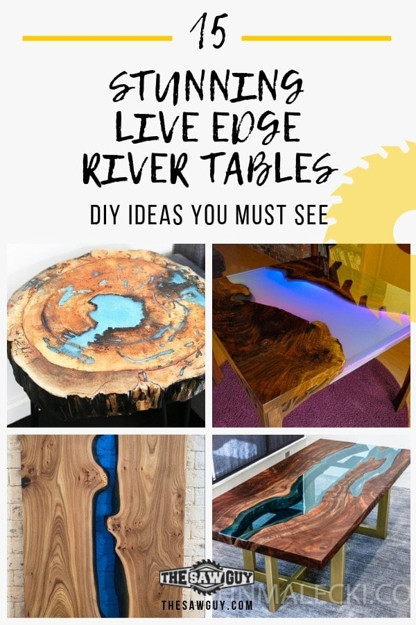 15 Live Edge River Tables - thesawguy.com