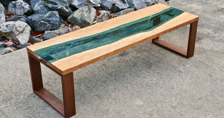 15 Stunning Diy Live Edge River Tables The Saw Guy