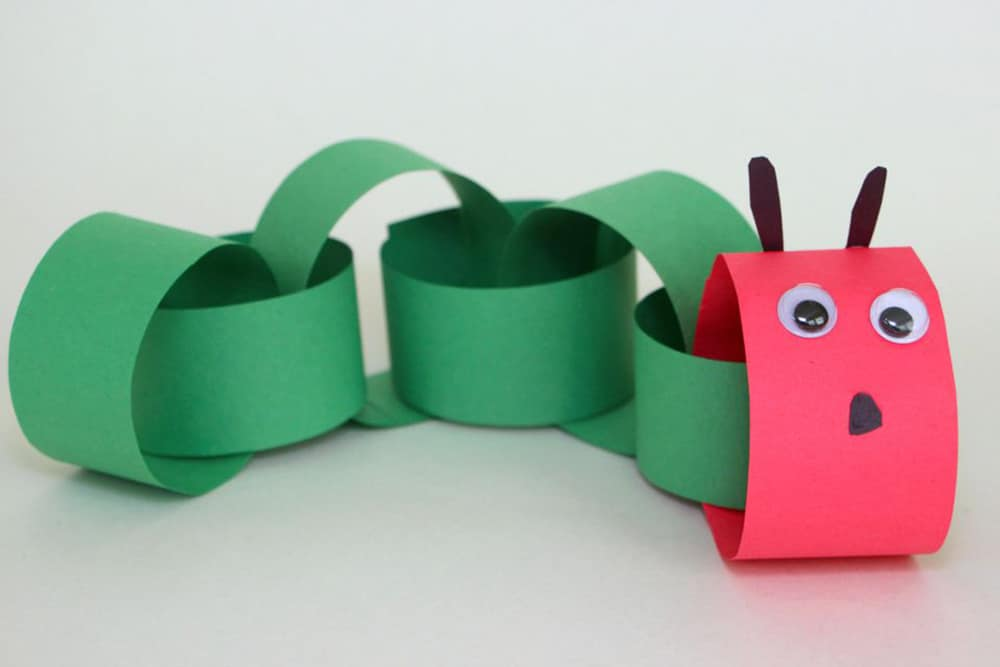 Hungry Caterpillar Craft If you have read The Very Hungry Caterpillar to your kids, they will be ecstatic when they find out you are going to make your own hungry caterpillar! You will just need some basic supplies like paper, scissors and googly eyes. Happy crafting! thesawguy.com