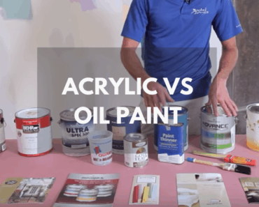 acrylic vs oil paint