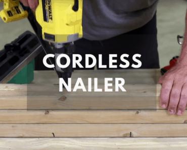 best cordless nailer