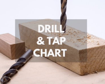 drill and tap chart