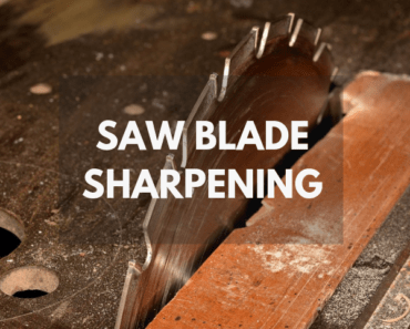 saw blade sharpening