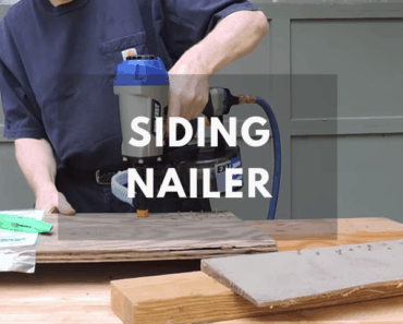 how to use a siding nailer