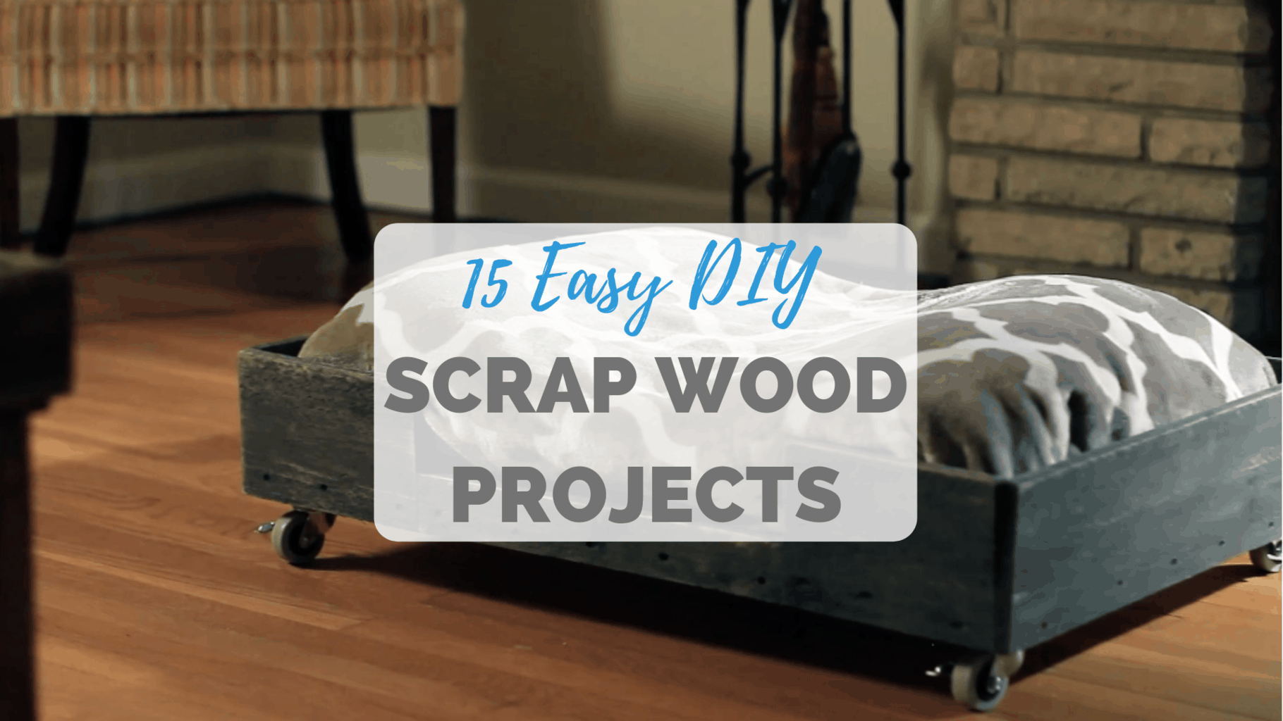 15 Easy Scrap Wood Projects The Saw Guy