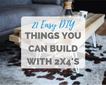 Things You Can Build with 2X4's