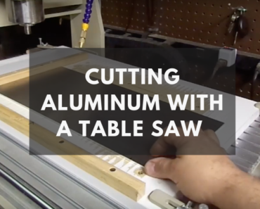 can you cut aluminum with a table saw