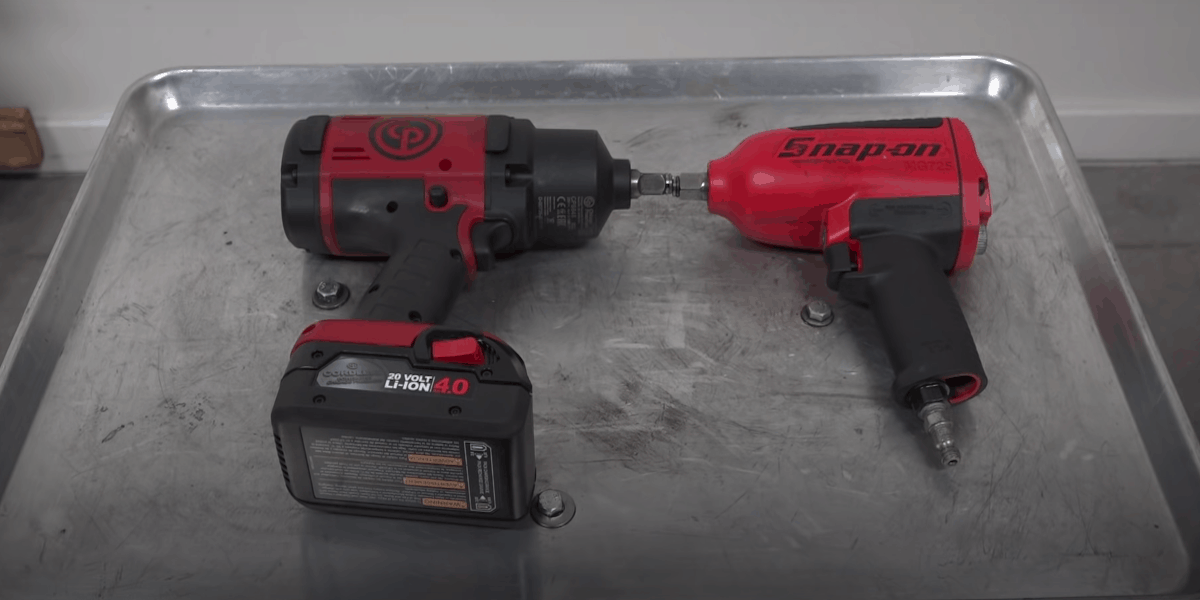 electric pneumatic impact wrench