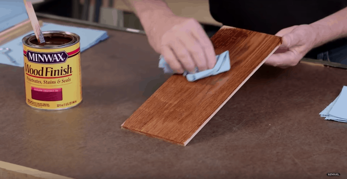 how long to let stain dry before polyurethane