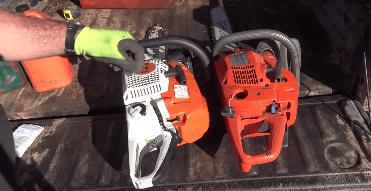 husqvarna vs stihl chainsaws