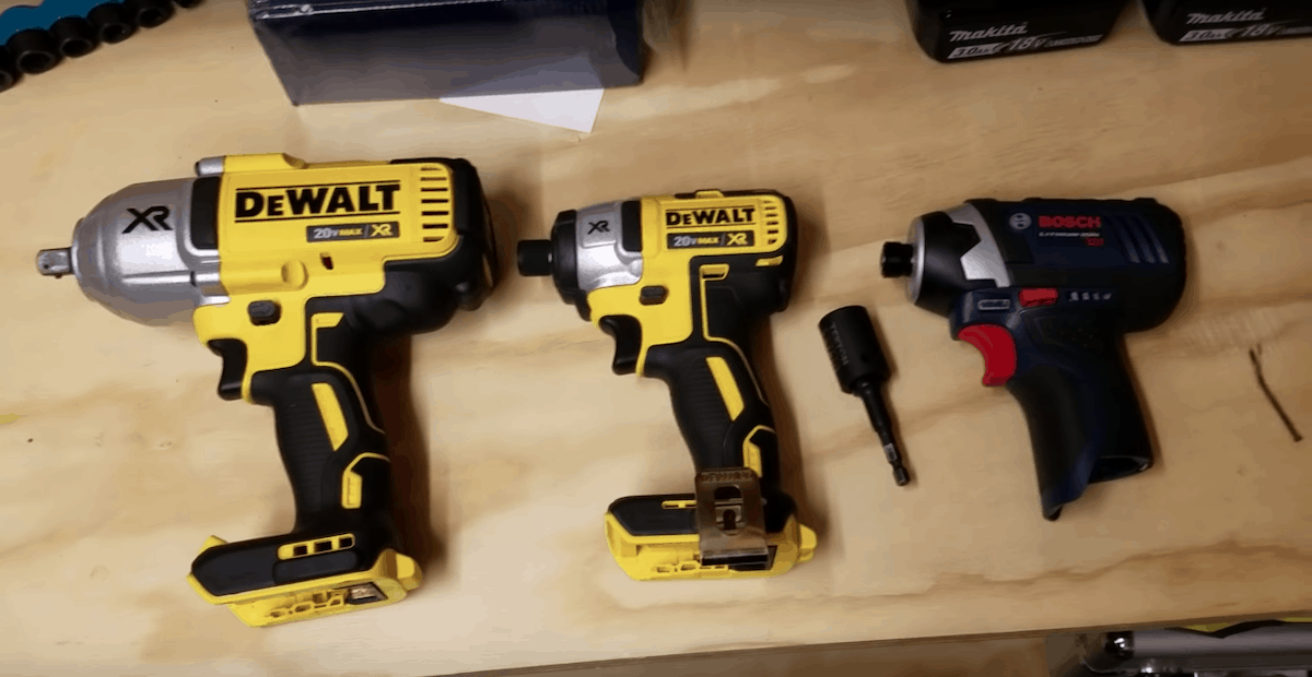 Impact Drivers vs. Impact Wrenches – Get The Right Tool For Your ...