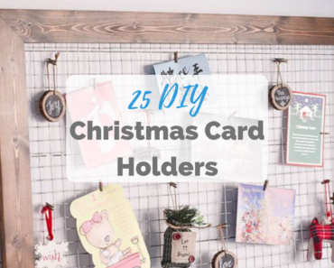 DIY Christmas Card Holders