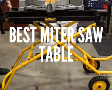 Miter Saw Tables